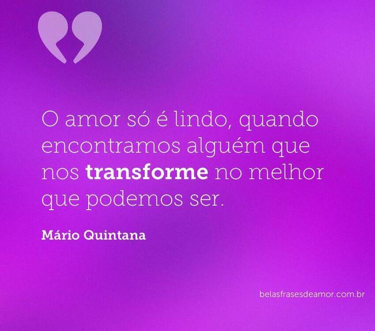 Amor por Mário Quintana