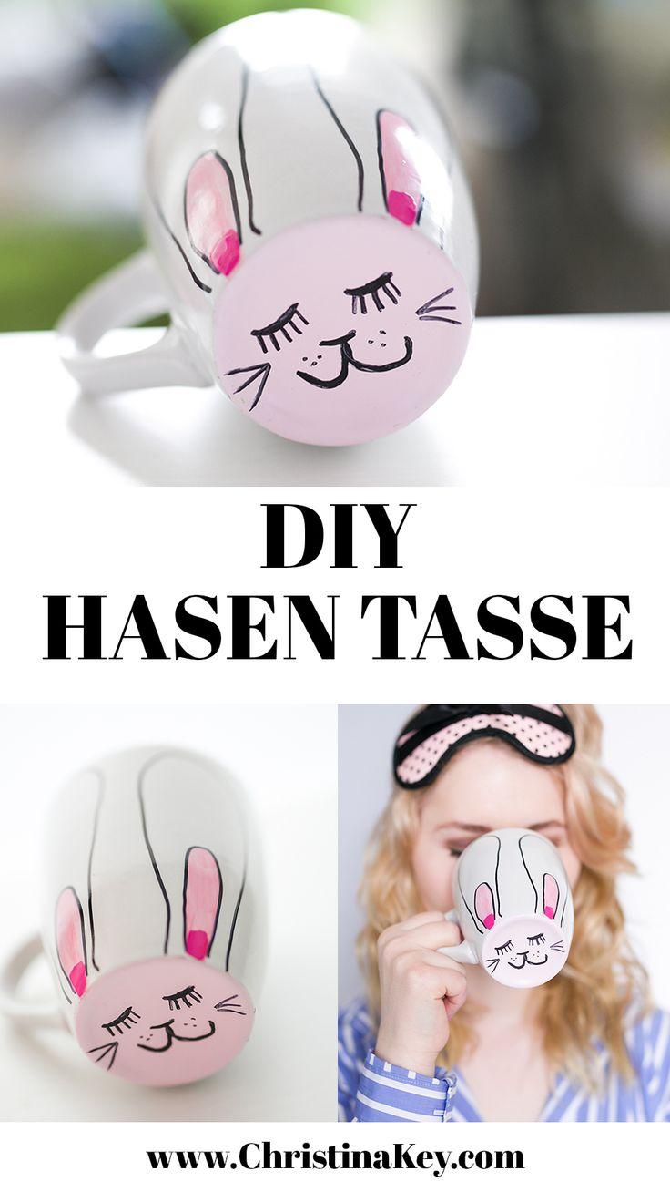 DIY Ideen für Ostern: Hasen Tasse – Die preiswerte und besonders schöne Oster DIY Idee für Groß & Klein II Artikel von CHRISTINA KEY - dem Fashion-, Fotografie- und Lifestyle Blog aus Berlin