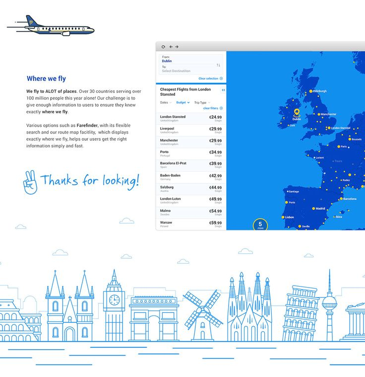 Ryanair Design Centre On Web Design Served