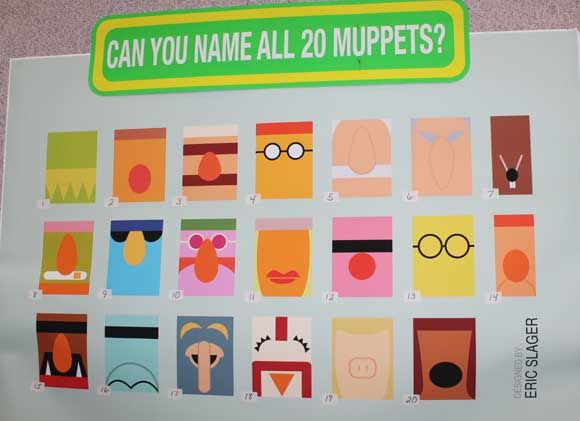 Can you name all 20 Muppets? (find the answers on utahcoupondeals.com