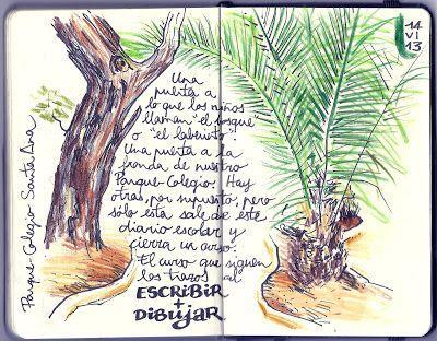 PARQUE - COLEGIO SANTA ANA: ESCRIBIR + DIBUJAR (14 de junio)
