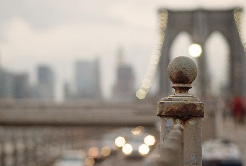 NYC. Kind a too much BB focused shot...