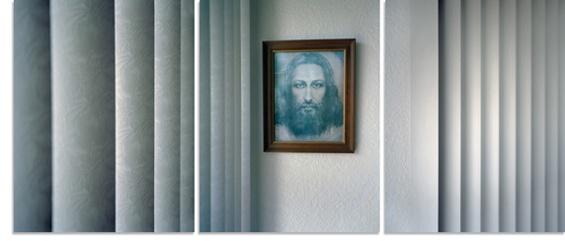 David Hilliard:  Jesus in the Guestroom, 2009.