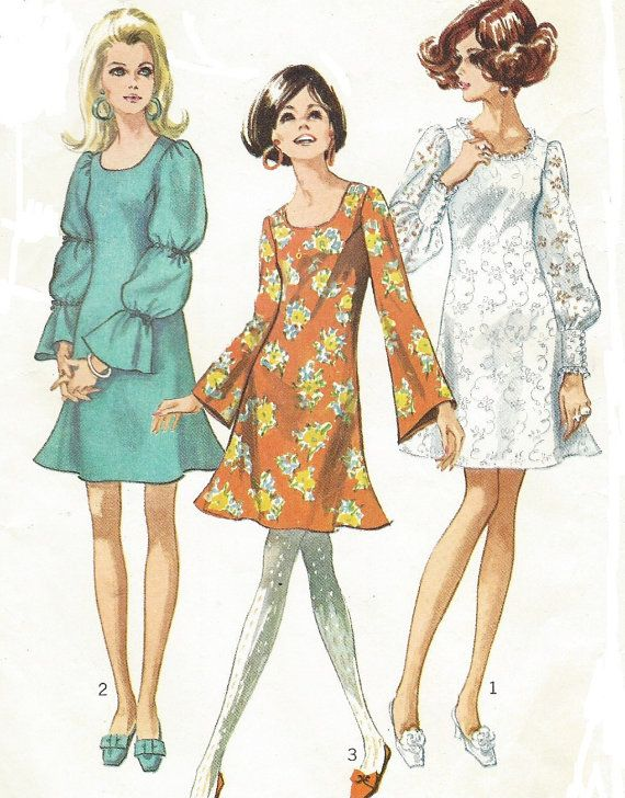 1225 Best 1960s Sewing Patterns Images On Pinterest
