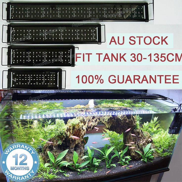 ZEIGER Eco LED Aquarium LED Lighting 1ft/2ft/3ft/4ft Marine Aqua Fish Tank Light