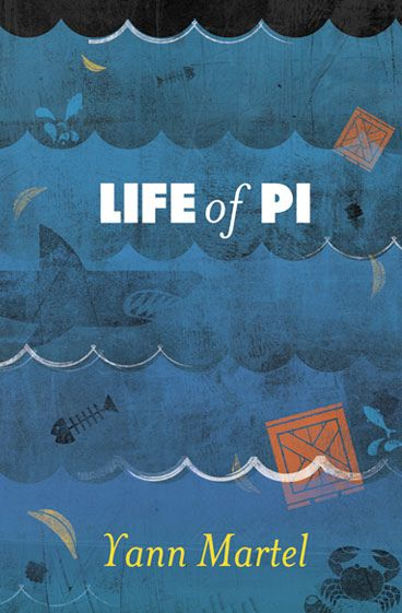 Crush | Life of Pi by Yann Martel (Concept Cover)