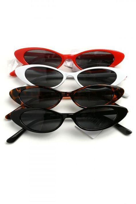 2e465941bc 40 Adorable Oval Sunglasses You May Want. #ilymix #sunglasses #style  #90sfashion #fashion 90 s Retro Tiny Small Sunglasses Trend