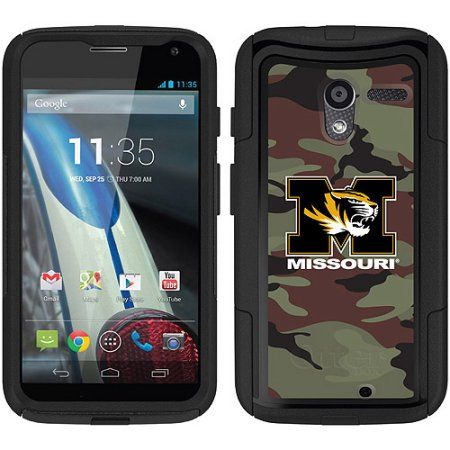 University of Missouri Camo Design on OtterBox Commuter Series Case for Moto X by Motorola
