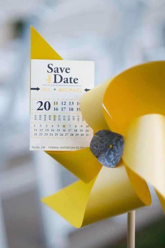 Save the date cata-vento