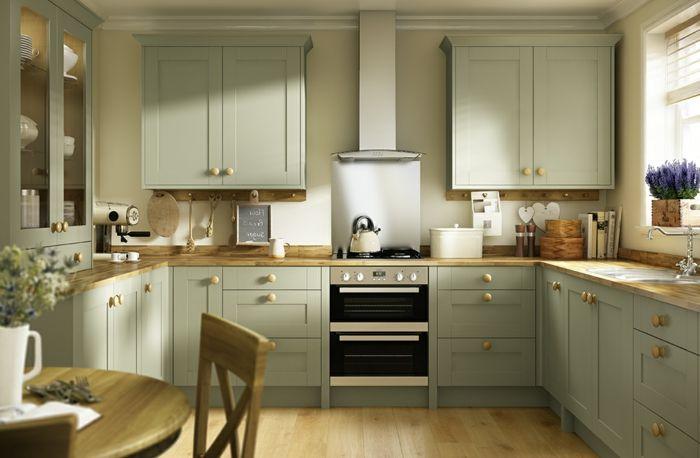 Küche Ideen Einrichtung – eine gemütliche Küche mit ...