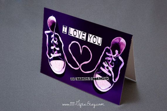 Image Gallery of No Strings Attached Valentines Day Card – No Strings Attached Valentines Card