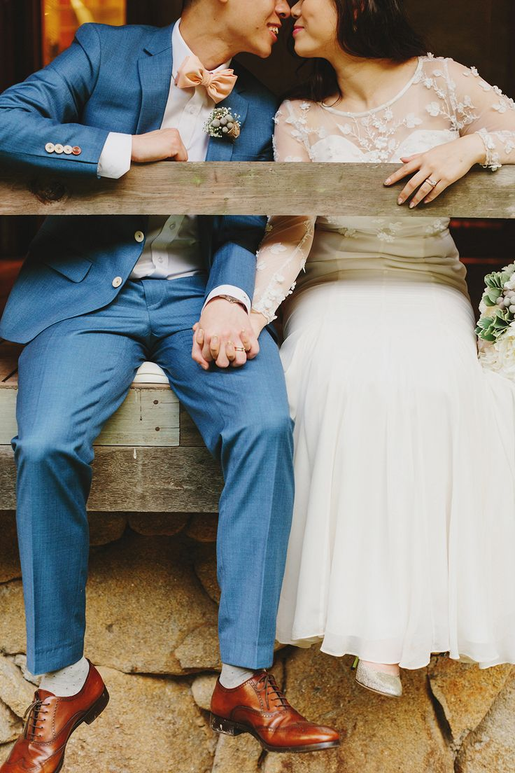 Rustic luxe destination wedding at Enderong Resort {Facebook and Instagram: The Wedding Scoop}