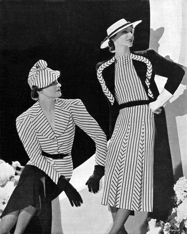 Moda na década de 1930.                                                                                                                                                                                 More