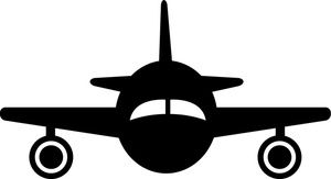 silhouette airplane   Airplane Clip Art Images Airplane Stock Photos & Clipart Airplane ...