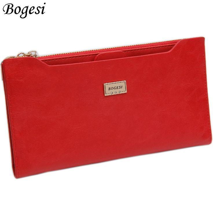 ジッパー付きコインバッグ新しい2017女性財布ブランド財布女性ロング薄い財布パスポートホルダーidカードケース838