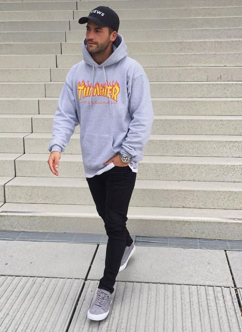 71 best Thrasher images on Pinterest | Man style Mens fashion and Street fashion