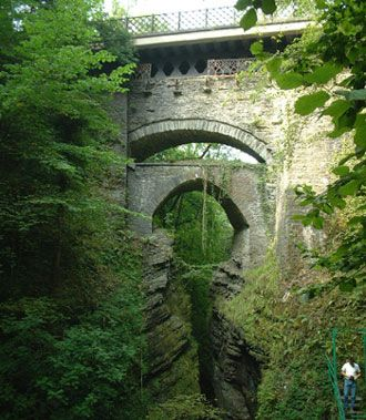 Devils Bridge! Such a lovely walk around all the woodlands surrounding the bridge! pretty waterfalls and hidden spaces to explore!