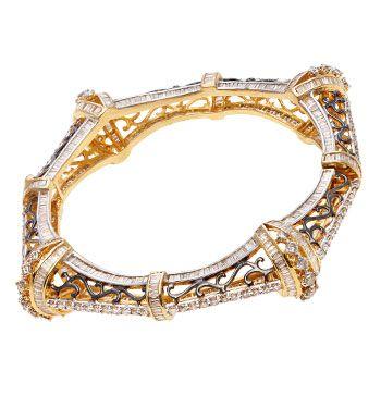 Online Jewellery Store, Buy Jewellery Watches Online, Jewelry Shopping India, Gold Diamond Jewelry - Emotions Diamond Jewellery Bracelet - EMO1534