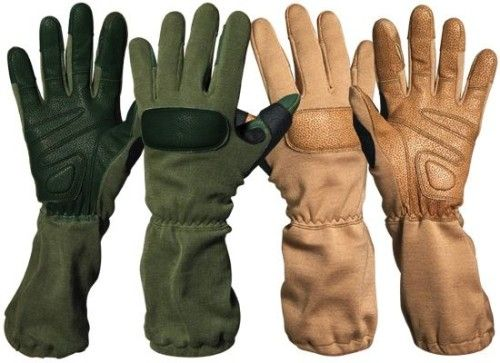 Kevlar gloves - basic bite protection for your hands and wrists...