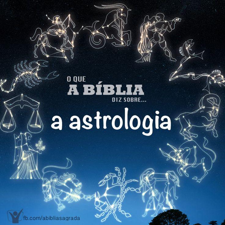 """A Bíblia diz em Isaías 47:13-15 """"Cansaste-te na multidão dos teus conselhos; levantem-se pois agora e te salvem os astrólogos, que contemplam os astros, e os que nas luas novas prognosticam o que há de vir sobre ti. Eis que são como restolho; o logo os queimará; n.... Para saber mais acesse: http://biblia.com.br/perguntas-biblicas/categoria/astrologia/"""