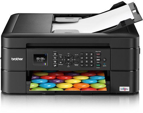 Brother WorkSmart Series All-in-One Inkjet Printer  Additional High Yield Black Ink Cartridge Kit