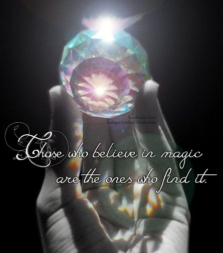 With the power of belief and a positive attitude, you will find the magic in your life.