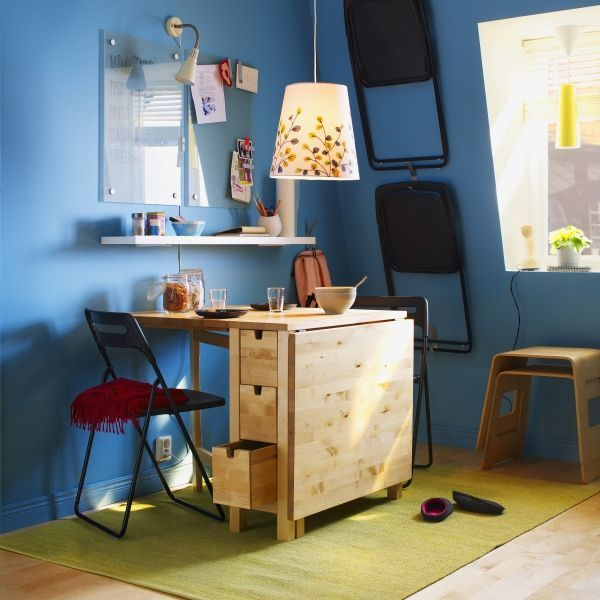 56 best my small home ideas images on pinterest ikea for Small craft table with storage