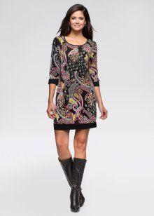 Moda feminina em vestidos, blusas, calças e até moda íntima na loja da bonprix