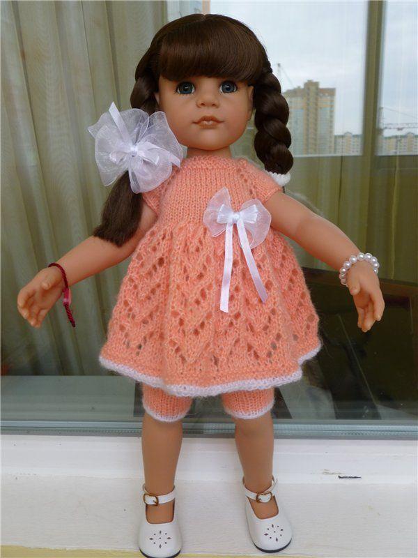 вязаные наряды для куколок Готс (и для кукол подобного формата , рост куколки примерно 50 см) / Одежда для кукол / Шопик. Продать купить куклу / Бэйбики. Куклы фото. Одежда для кукол