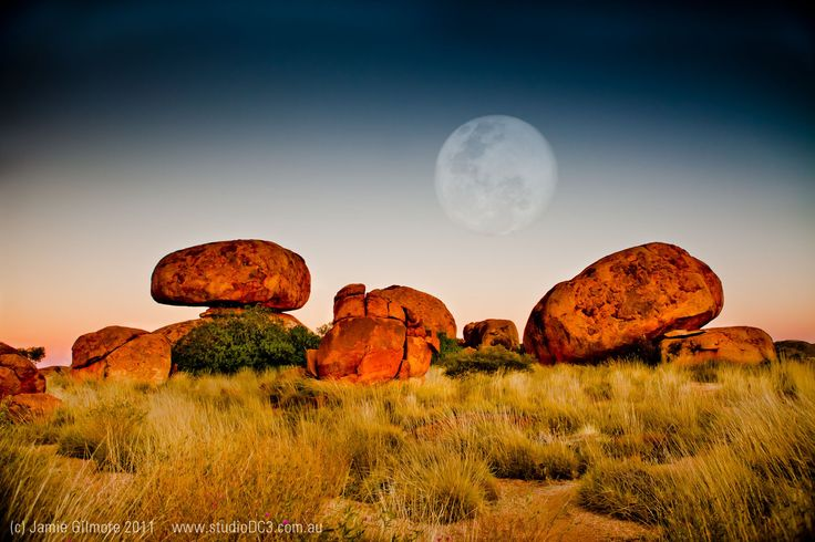 The Devils Marbles Northern Territory Australia