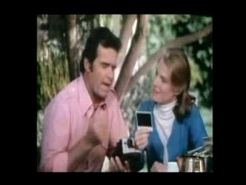 James Garner-Polaroid commercials before cell phones