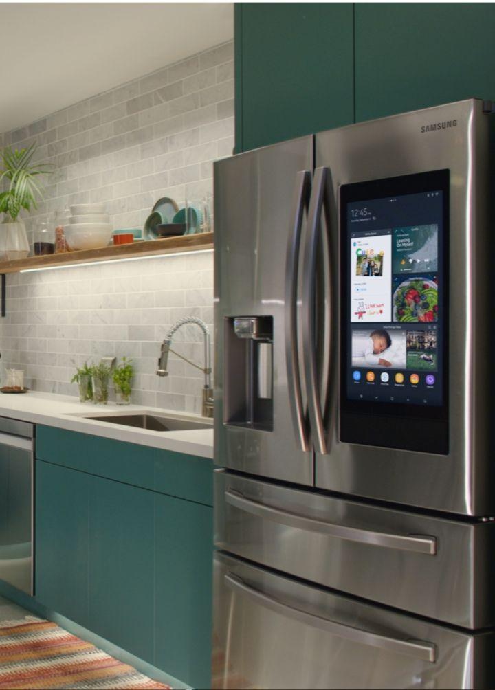 Refrigerators Smart Fridges Samsung Us Smart Home Appliances Smart Fridge Smart Kitchen