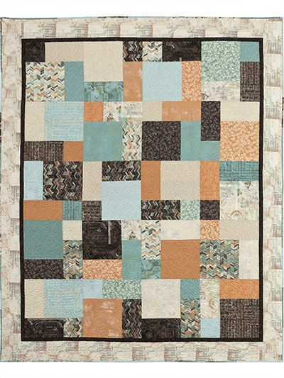 This Could Be A Good Pattern For Rachel To MakeFat Quarter Slide Simple Fat Quarter Quilt Patterns