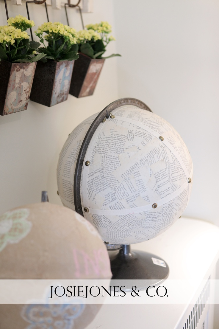 book page globeGlobes Maps, Living Spaces, Mod Podge, Taye Room, Book, House Living, Ideas House, Podge Globes, Wall Planters