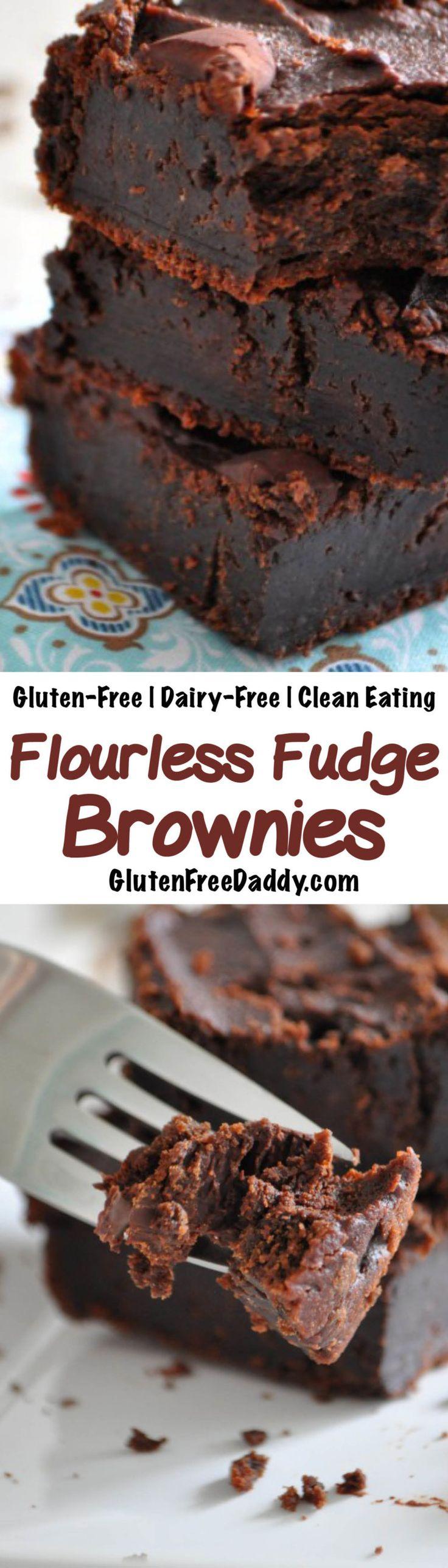 Gluten-Free Flourless Brownies