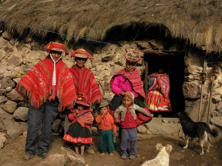 Традиционная одежда кечуанов Перу