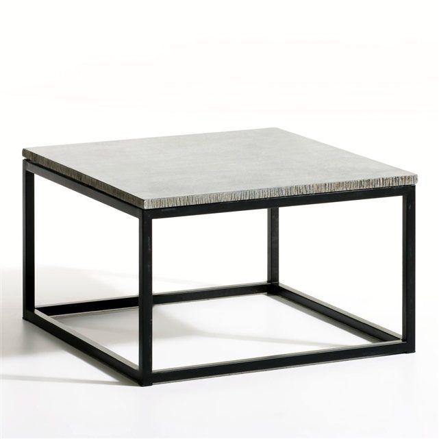 Table basse Smog, carrée AM.PM : prix, avis & notation, livraison. Ou bout de canapé. Avec son plateau en granit reconstitué (épaisseur 2 cm), cette table basse s'inscrit pleinement dans la tendance