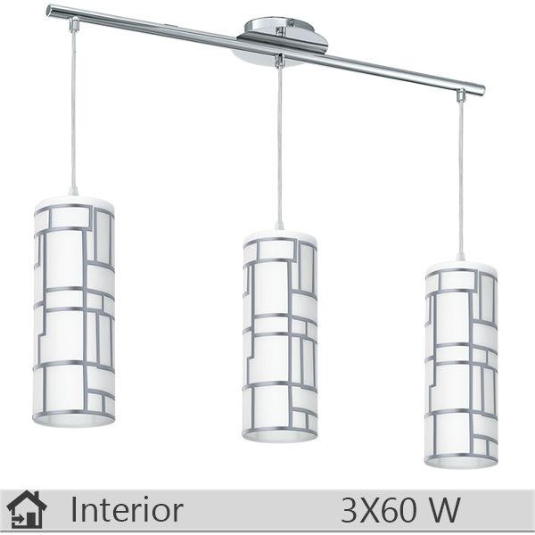 Lustra iluminat decorativ interior Eglo, gama Bayman, model 92563