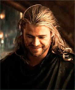 And was so beautiful it literally hurt. | 32 Times Chris Hemsworth Made You Pregnant Without Even Touching You