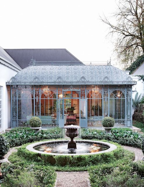 Things We Love: Conservatories. Sun RoomGarden FountainsFountain ...
