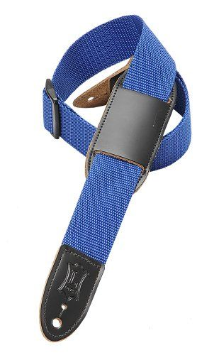 Levy's Leathers M8PJ-BLU 1.5 Polypropylene Youth's Guitar Strap,Blue - http://www.kidstrument.com/guitars/levys-leathers-m8pj-blu-1-5-polypropylene-youths-guitar-strapblue