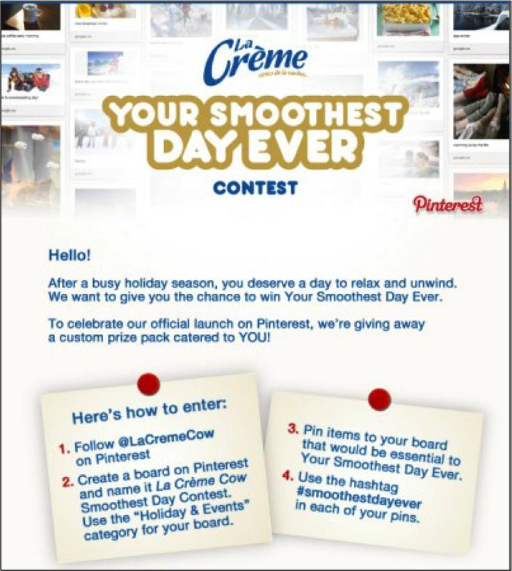 La Crème Cow HOW TO ENTER Smoothest Day Ever Contest!