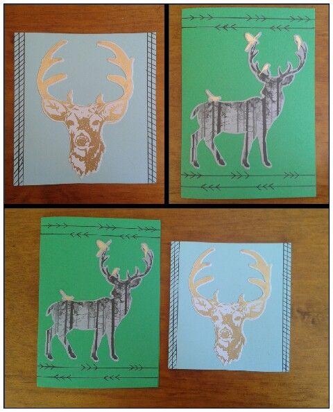 Boy deer cards