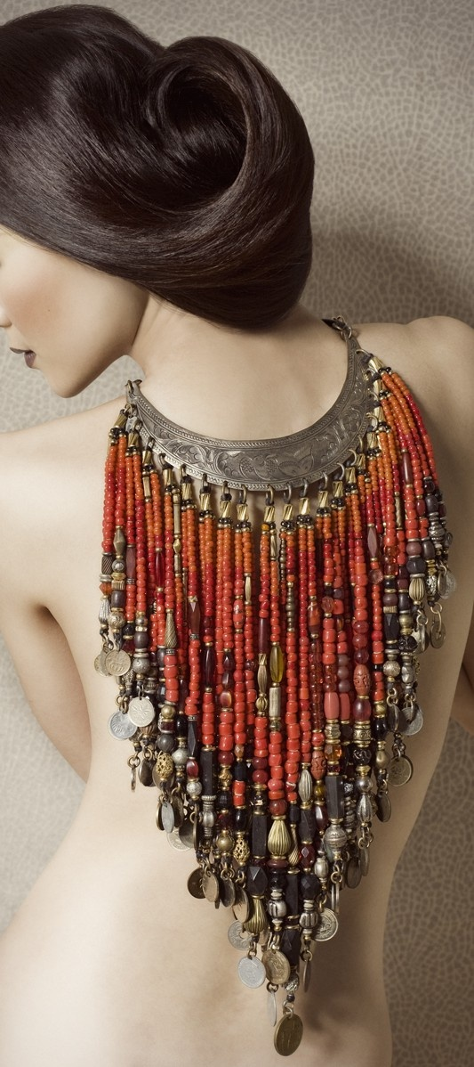 Back/Necklace♥✤ | Keep the Glamour | BeStayBeautiful