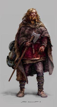Stian Dahlslett, Viking concept
