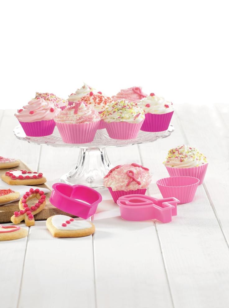 Breast Cancer Crusade Cupcakes- Briose gătite din suflet