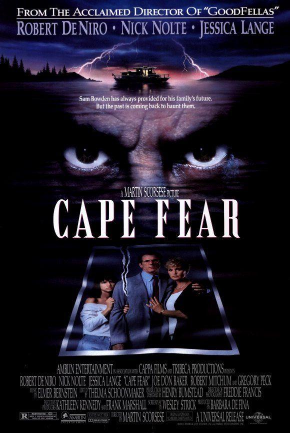 Cape Fear. DeNiro really scared me. Juliette Lewis is fabulous.