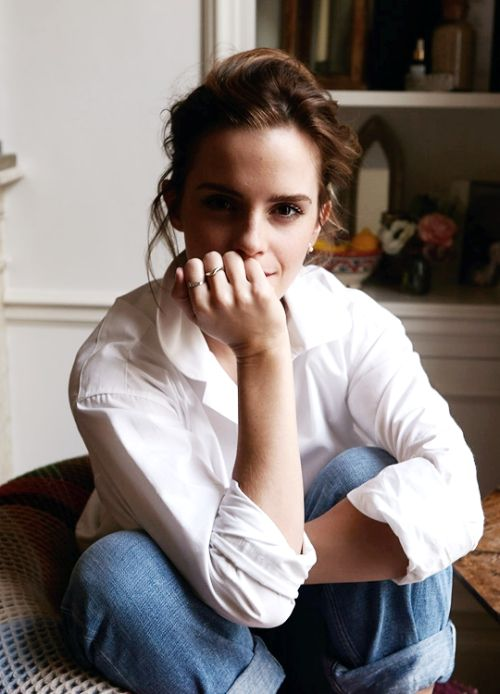 "emmawatsonsource: ""Emma Watson photographed by Olivia Richardson for Into The Gloss (March 2017) """