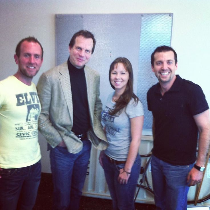 We got to interview Bill Paxton six years ago. He indulged me by quoting Chet from Weird Science. #RIPBillPaxton