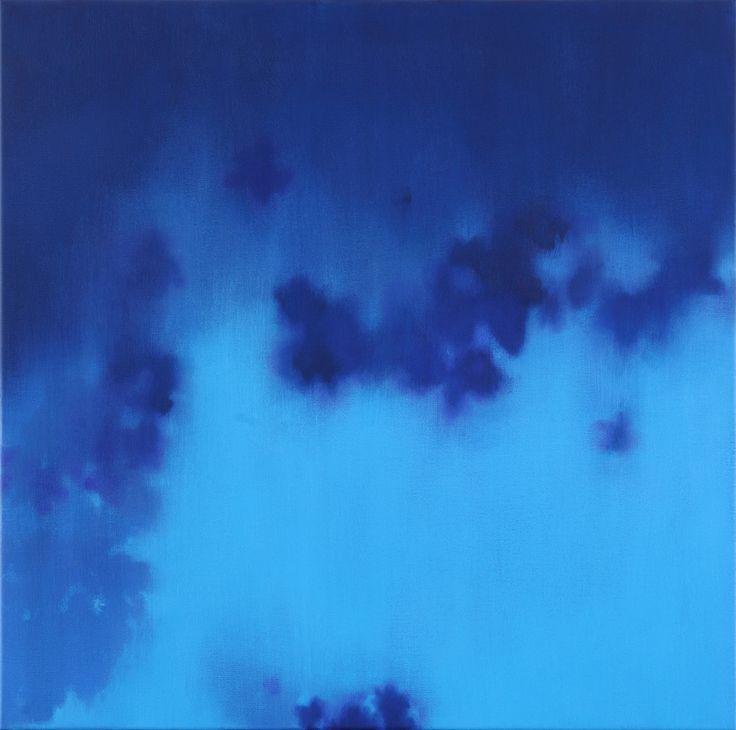 2014 Gaps, 80x80 cm oil on canvas